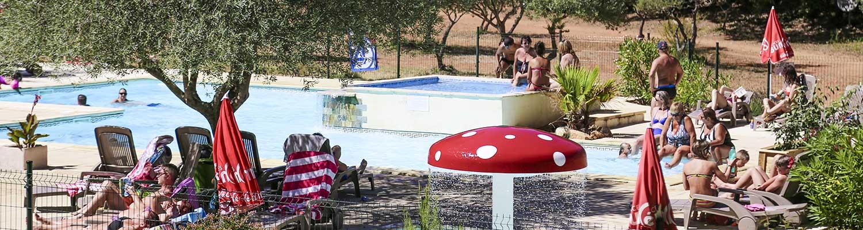 Camping services sillans la cascade locations mobil home - Location gorge du verdon avec piscine ...